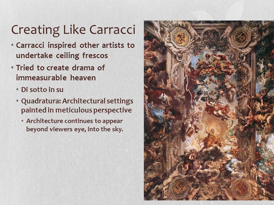 Creating Like Carracci