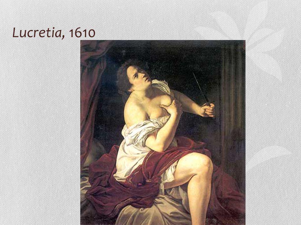 Lucretia, 1610