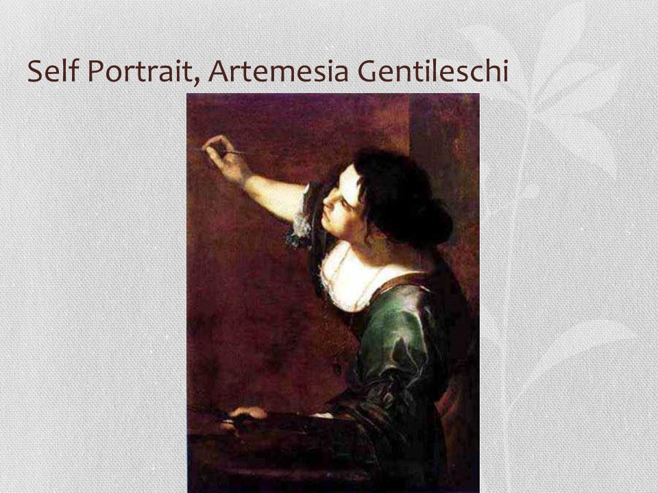 Self Portrait, Artemesia Gentileschi