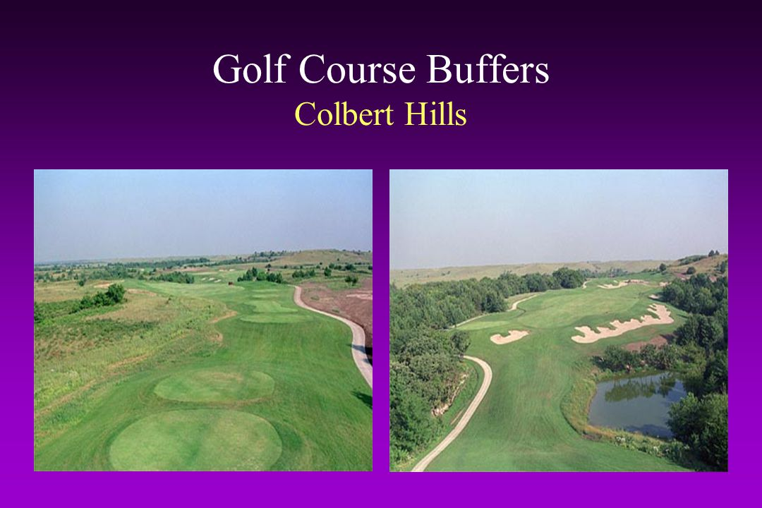 Golf Course Buffers Colbert Hills