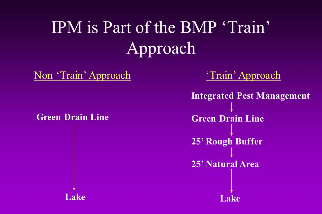 IPM is Part of the BMP 'Train' Approach