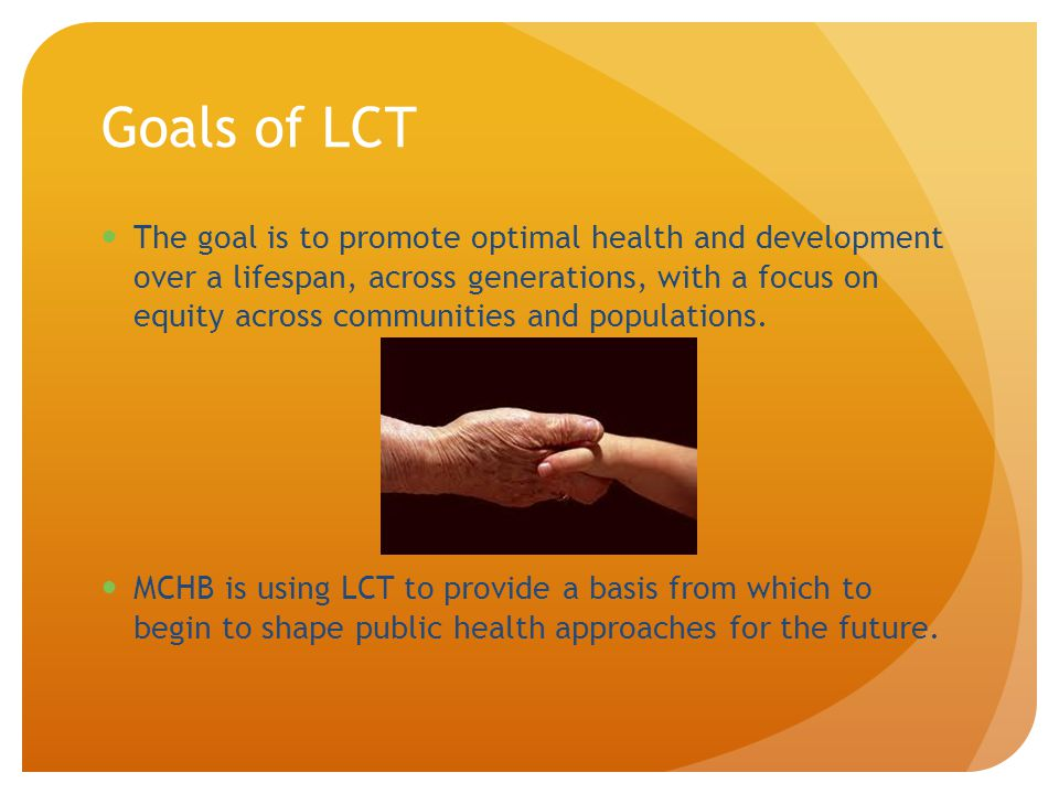 Goals of LCT