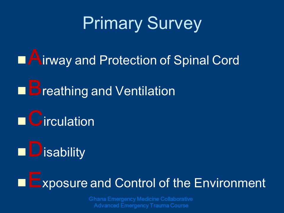 Airway and Protection of Spinal Cord Breathing and Ventilation