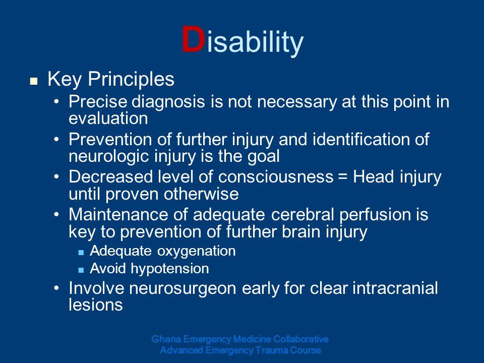 Disability Key Principles
