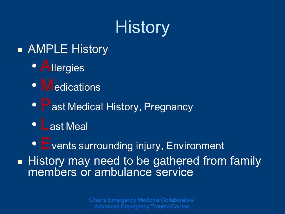 History Allergies Medications Past Medical History, Pregnancy