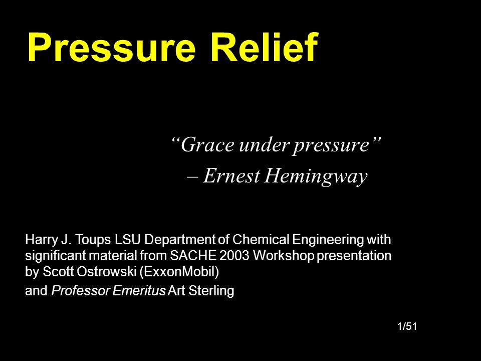 Grace under pressure – Ernest Hemingway