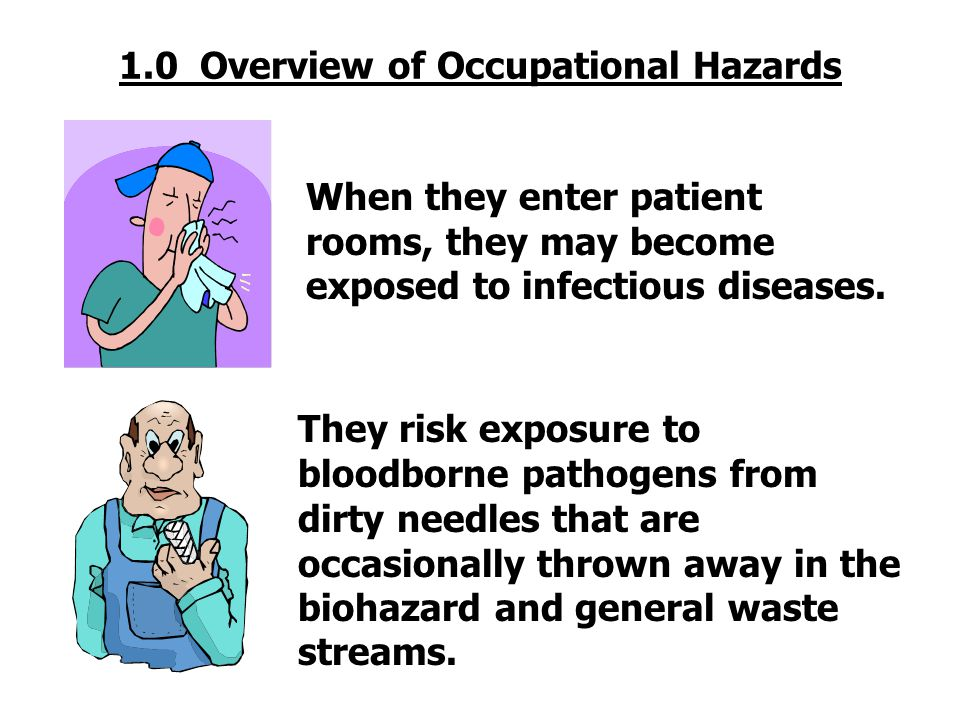 1.0 Overview of Occupational Hazards