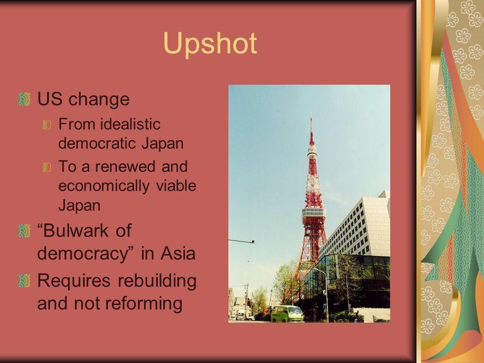 Upshot US change Bulwark of democracy in Asia