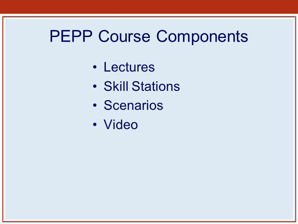 PEPP Course Components