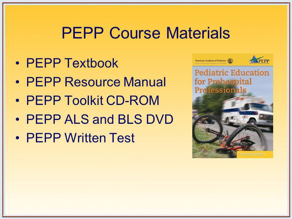 PEPP Course Materials PEPP Textbook PEPP Resource Manual