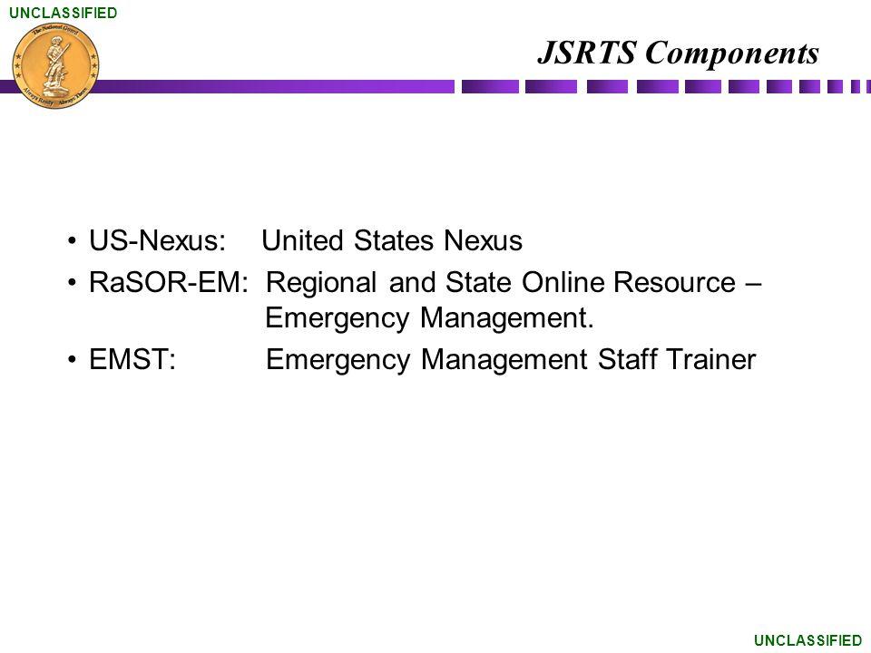 JSRTS Components US-Nexus: United States Nexus
