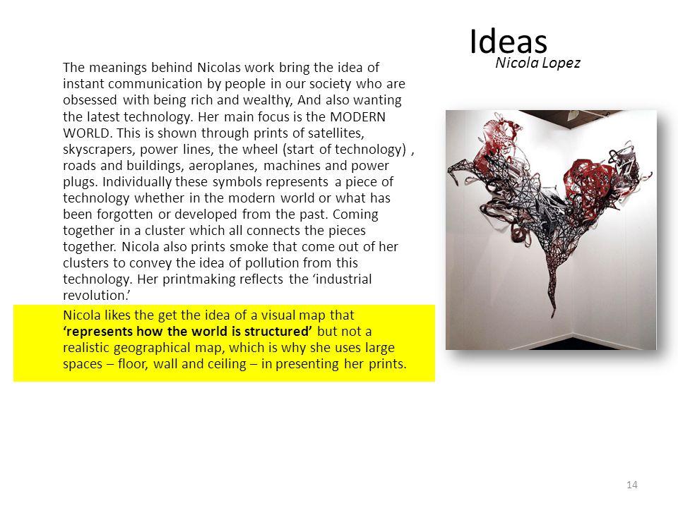 Ideas Nicola Lopez.