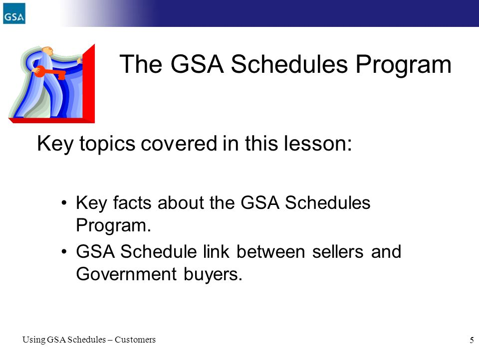 The GSA Schedules Program