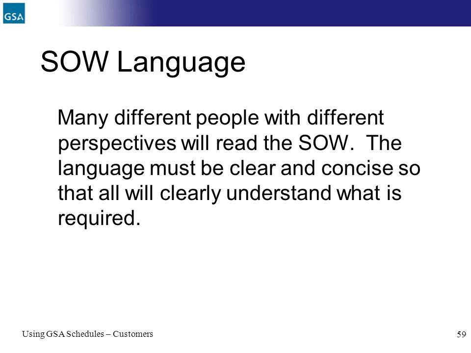 SOW Language