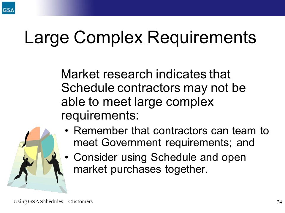 Large Complex Requirements