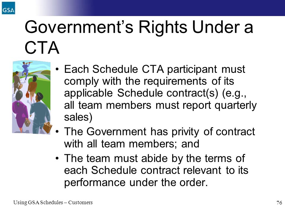 Government's Rights Under a CTA