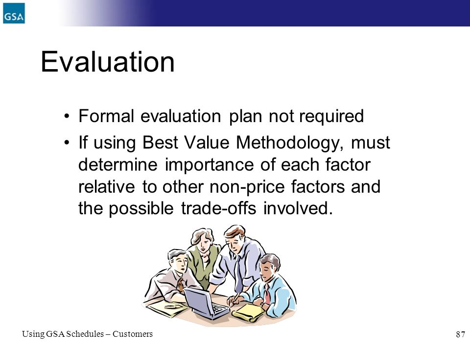 Evaluation Formal evaluation plan not required