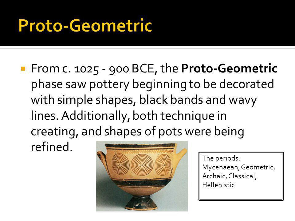 Proto-Geometric