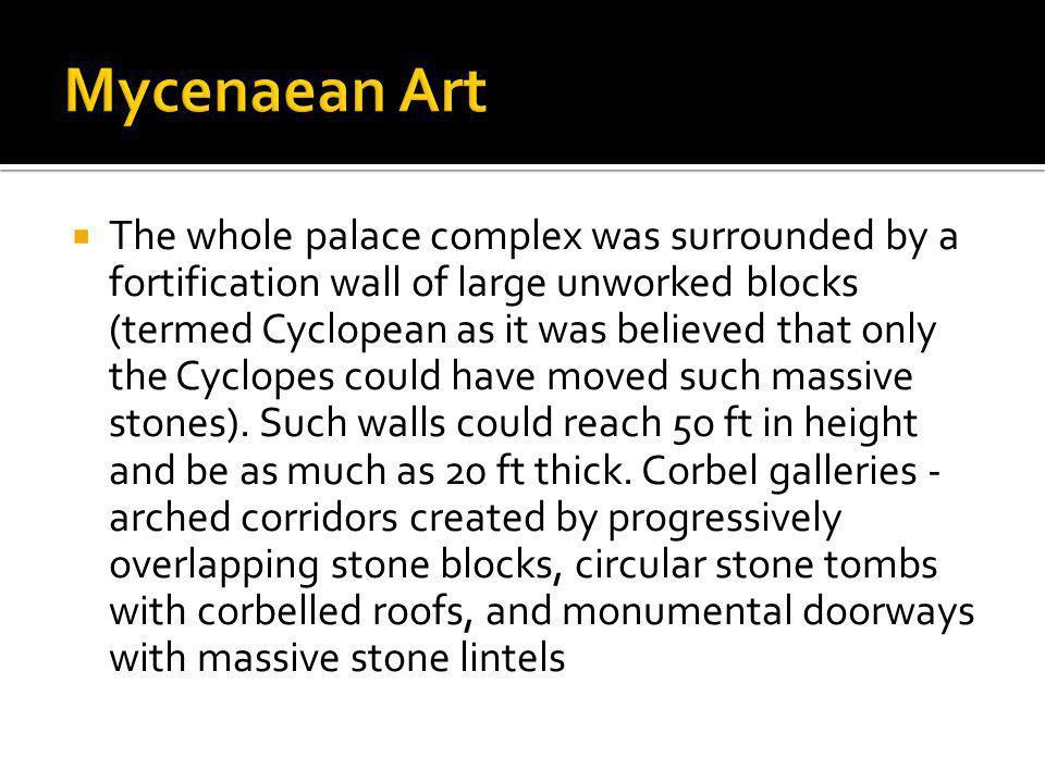 Mycenaean Art
