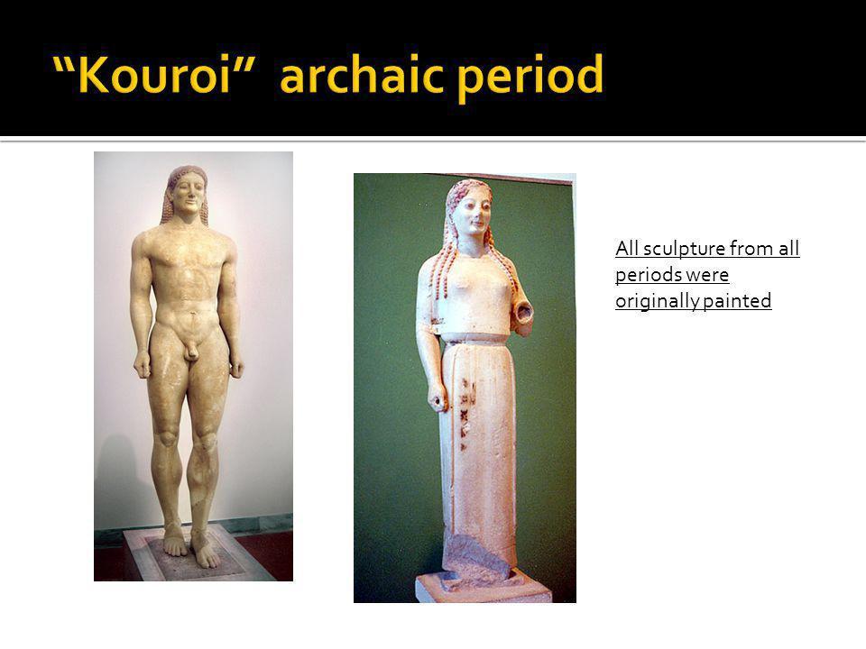 Kouroi archaic period