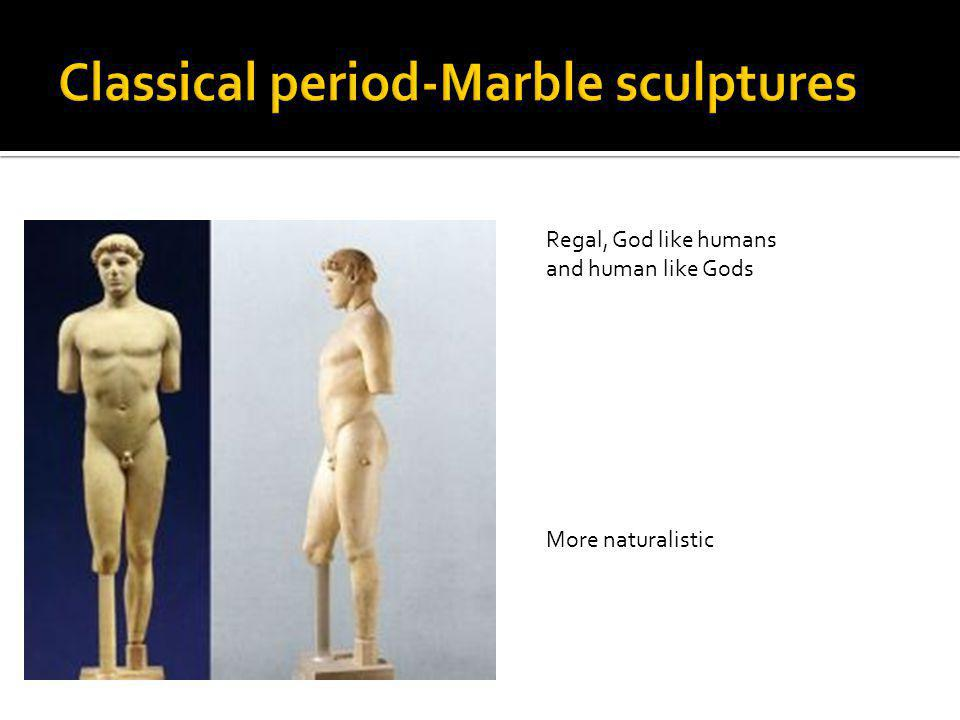 Classical period-Marble sculptures
