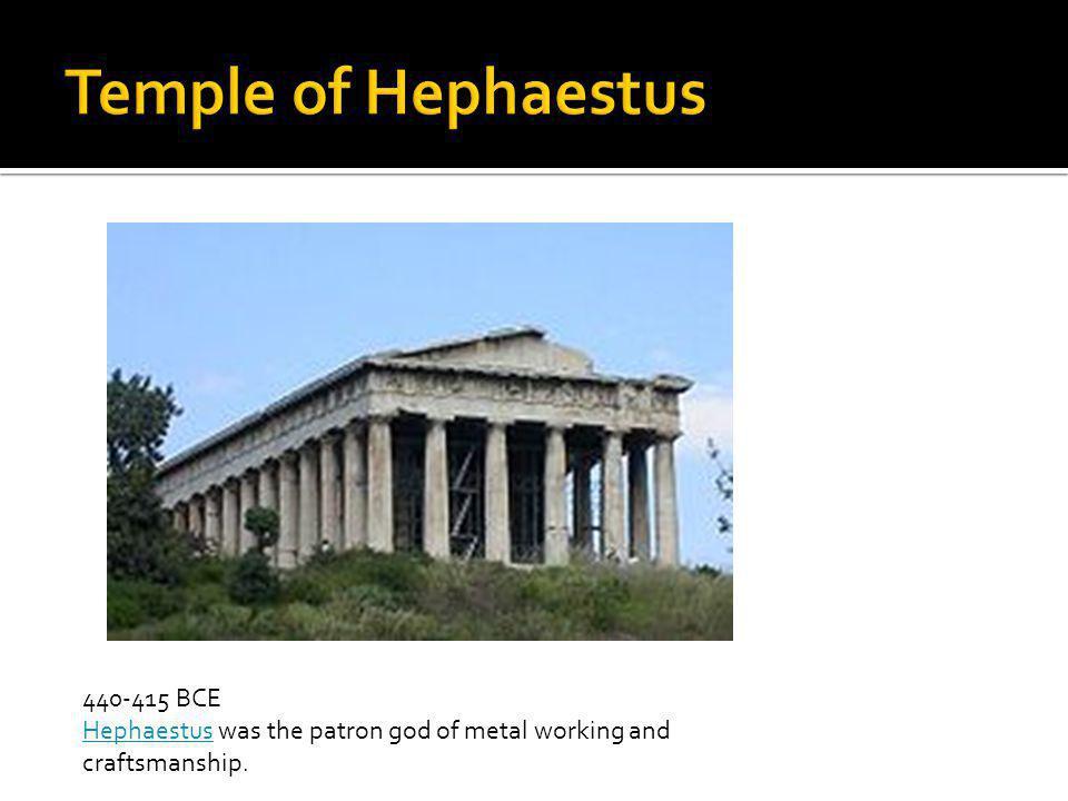 Temple of Hephaestus 440-415 BCE