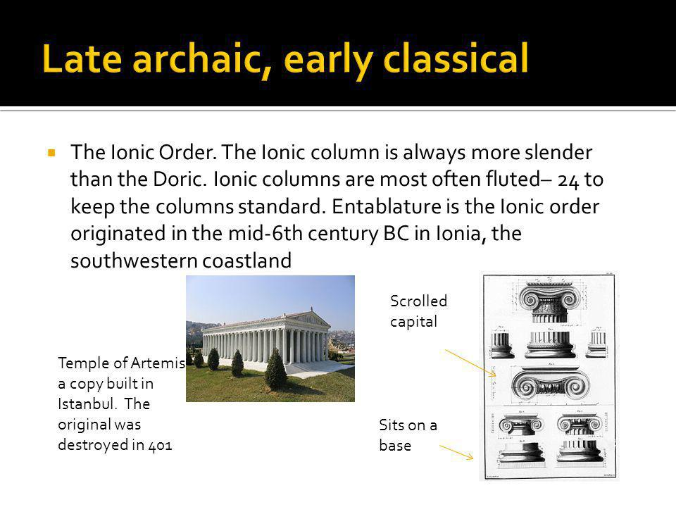 Late archaic, early classical