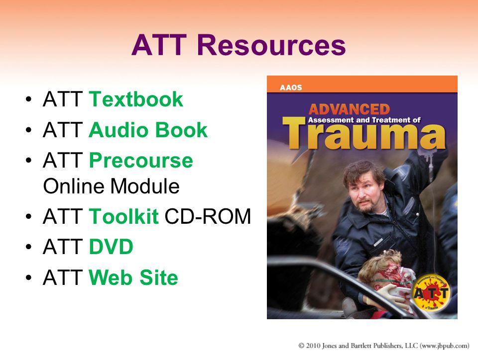 ATT Resources ATT Textbook ATT Audio Book ATT Precourse Online Module