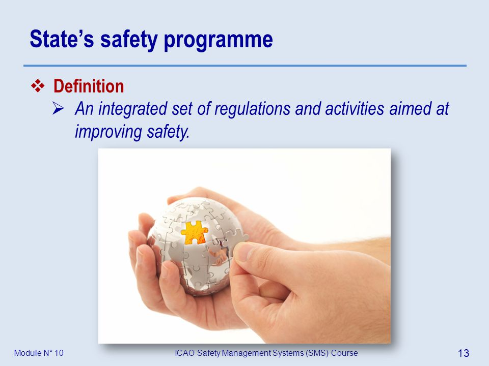 State's safety programme