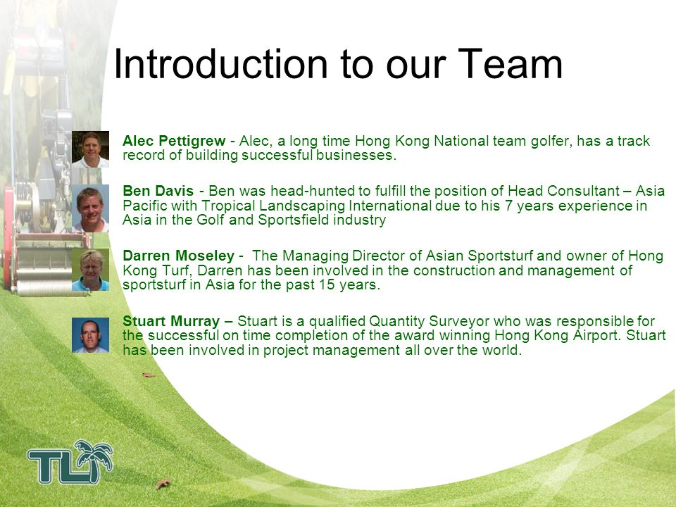 Introduction to our Team