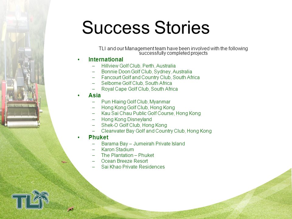 Success Stories International Asia Phuket