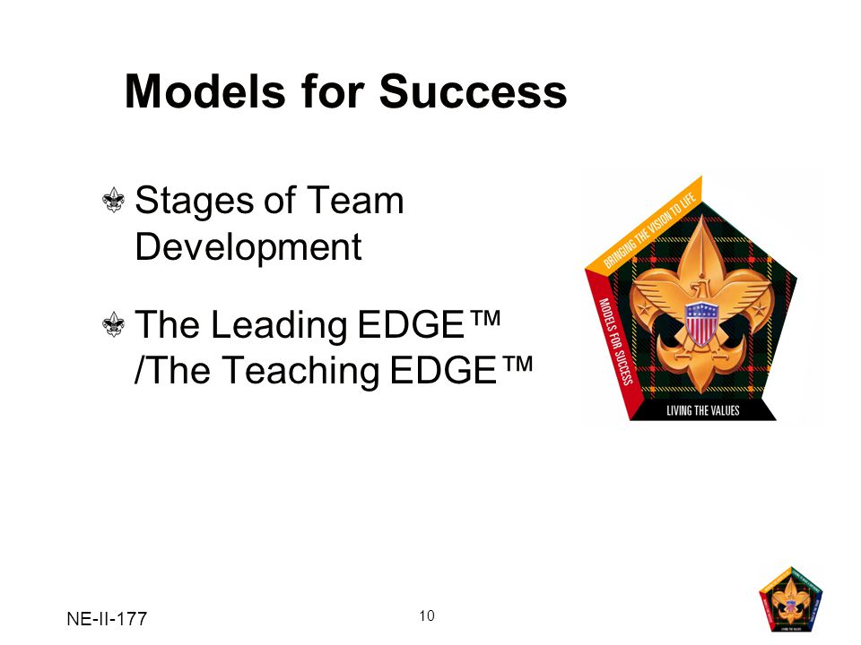 Models for Success Stages of Team Development