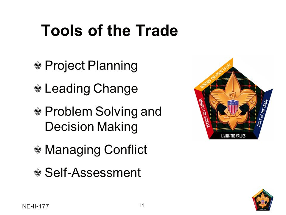 Tools of the Trade Project Planning Leading Change