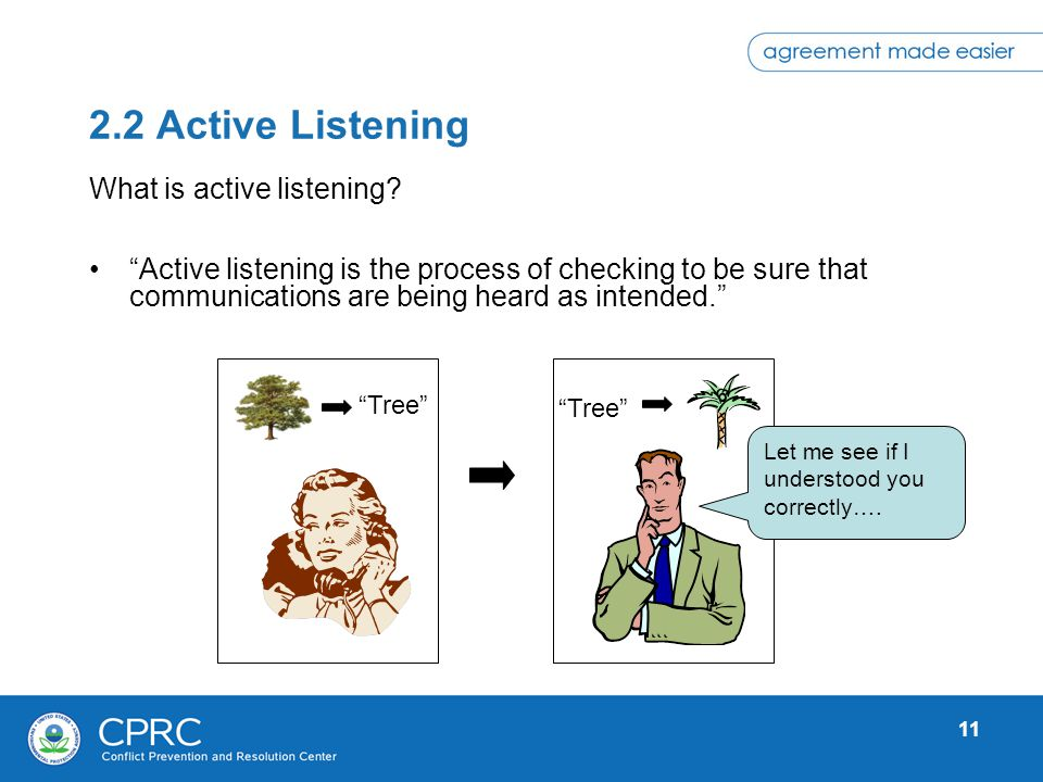 2.2 Active Listening What is active listening