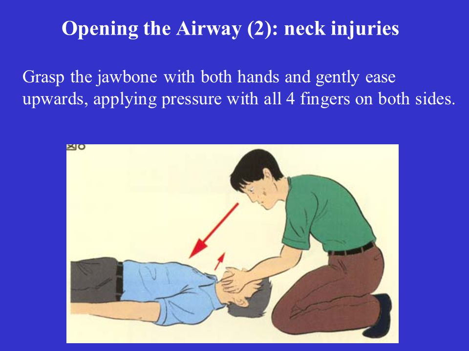 Opening the Airway (2): neck injuries