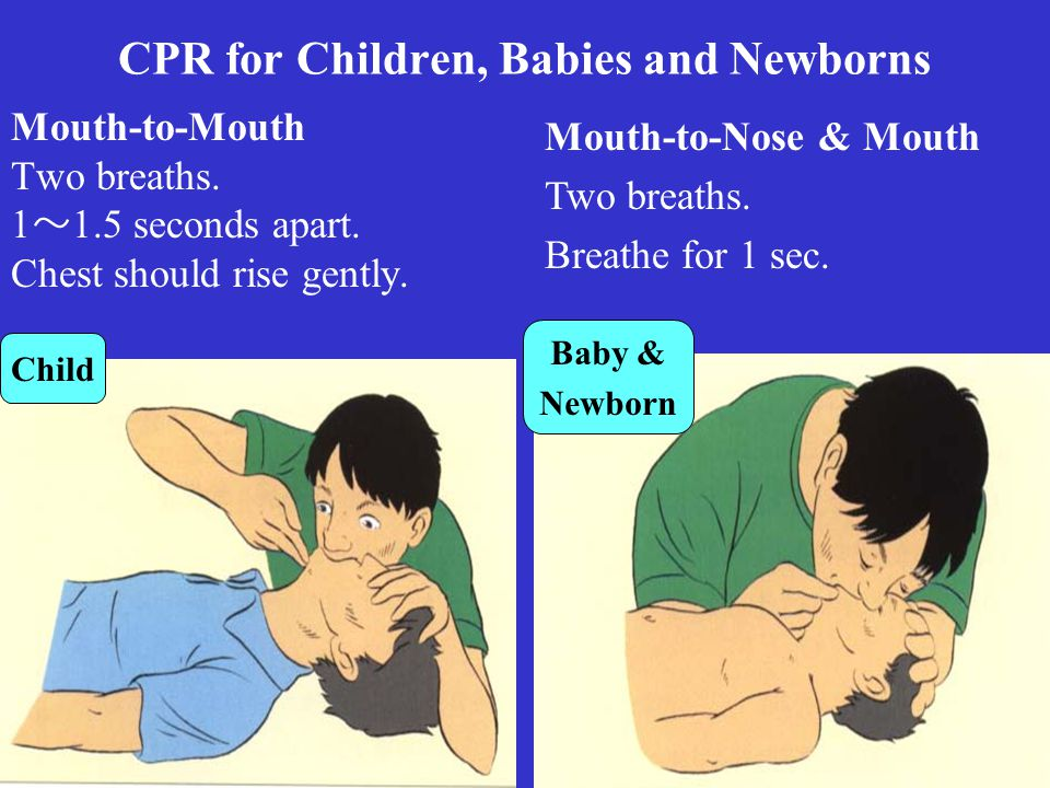 CPR for Children, Babies and Newborns