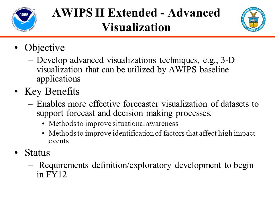 AWIPS II Extended - Advanced Visualization