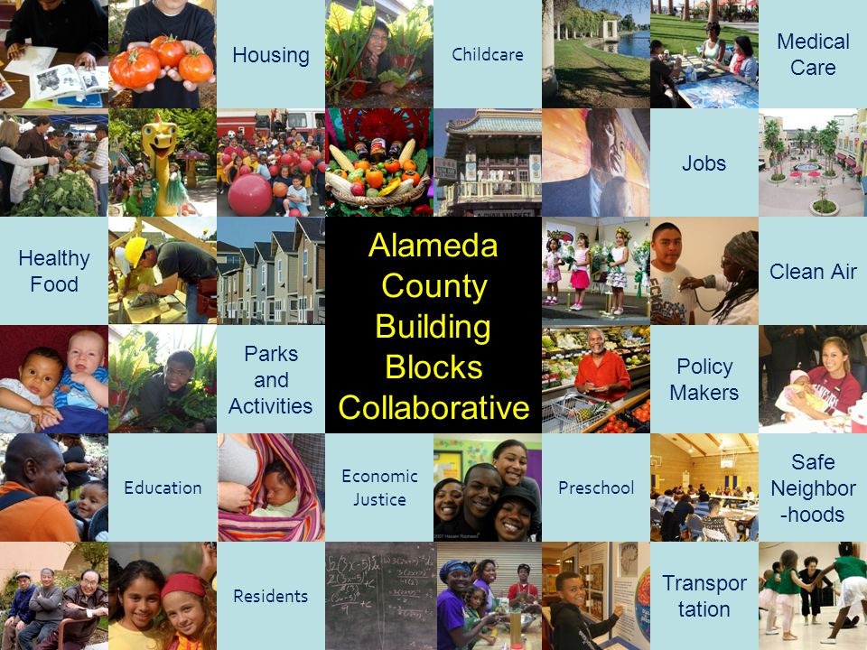Alameda County Building Blocks Collaborative Medical Care Housing Jobs