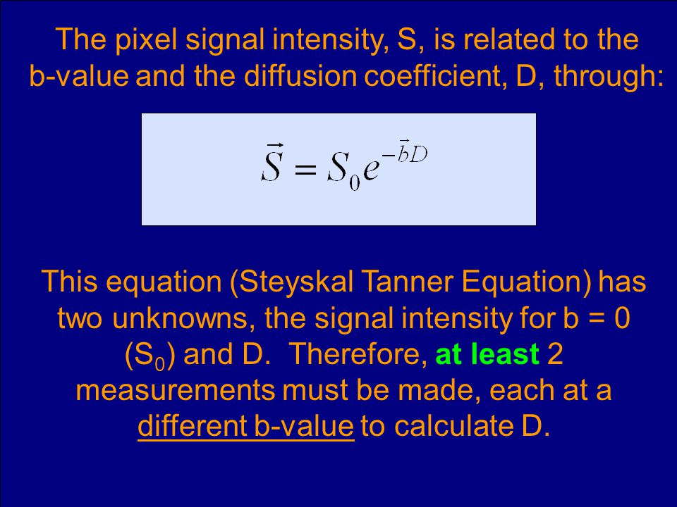 The pixel signal intensity, S, is related to the