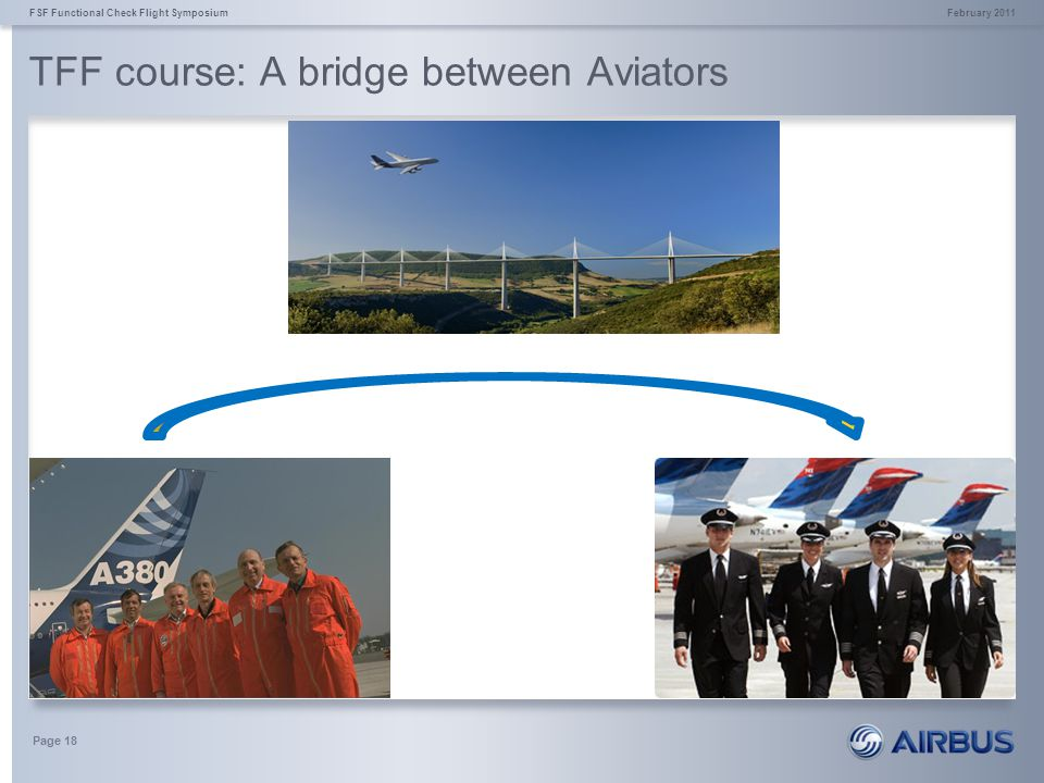 TFF course: A bridge between Aviators