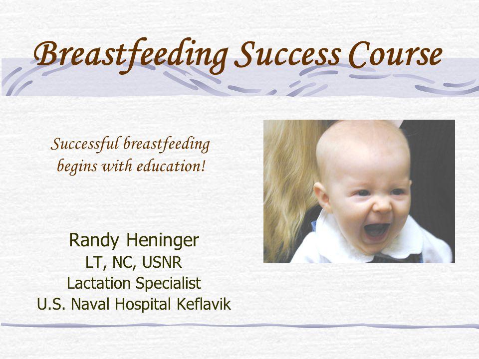 Successful breastfeeding begins with education!