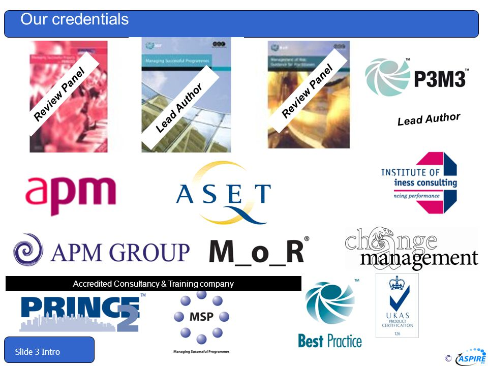 Accredited Consultancy & Training company