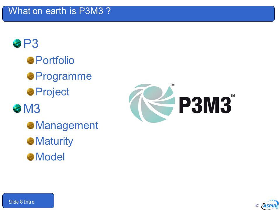 P3 M3 Portfolio Programme Project Management Maturity Model