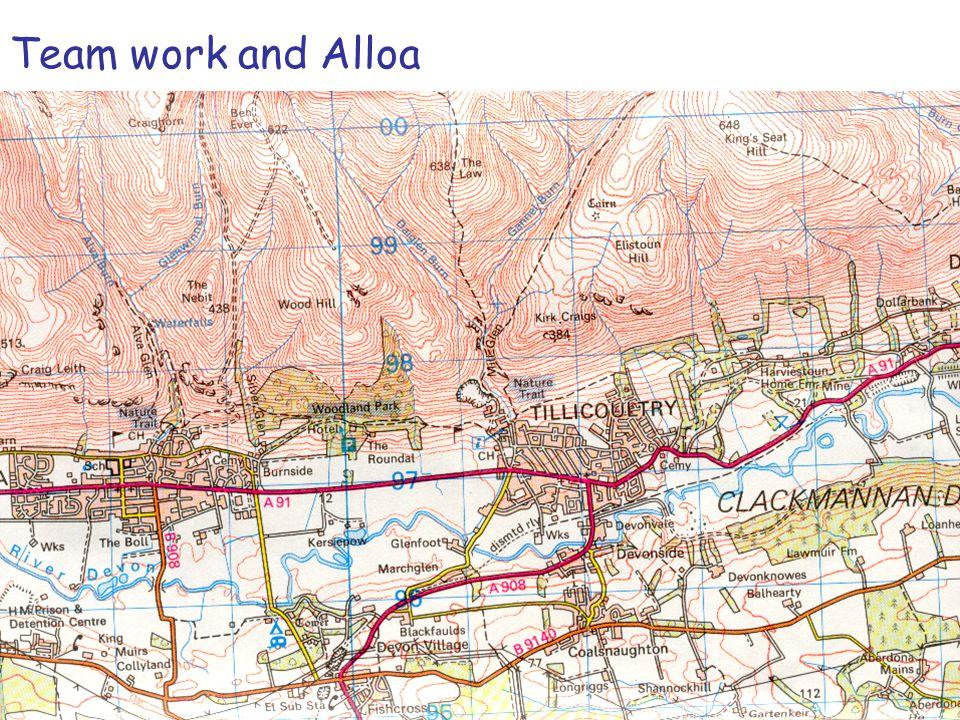 Team work and Alloa