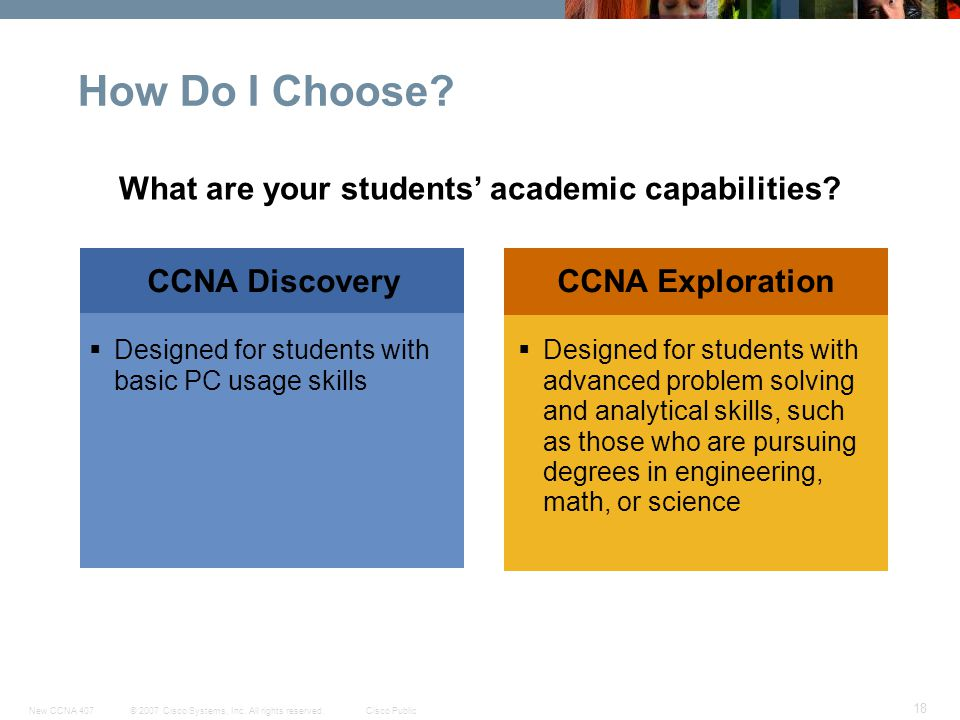 What are your students' academic capabilities