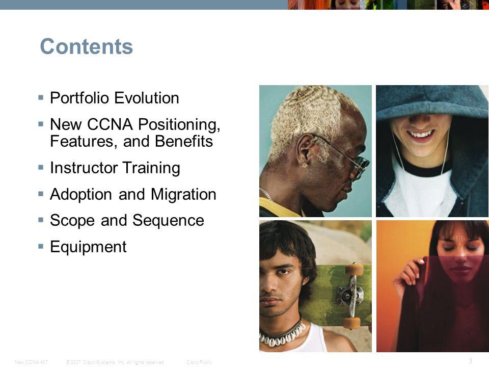 Contents Portfolio Evolution