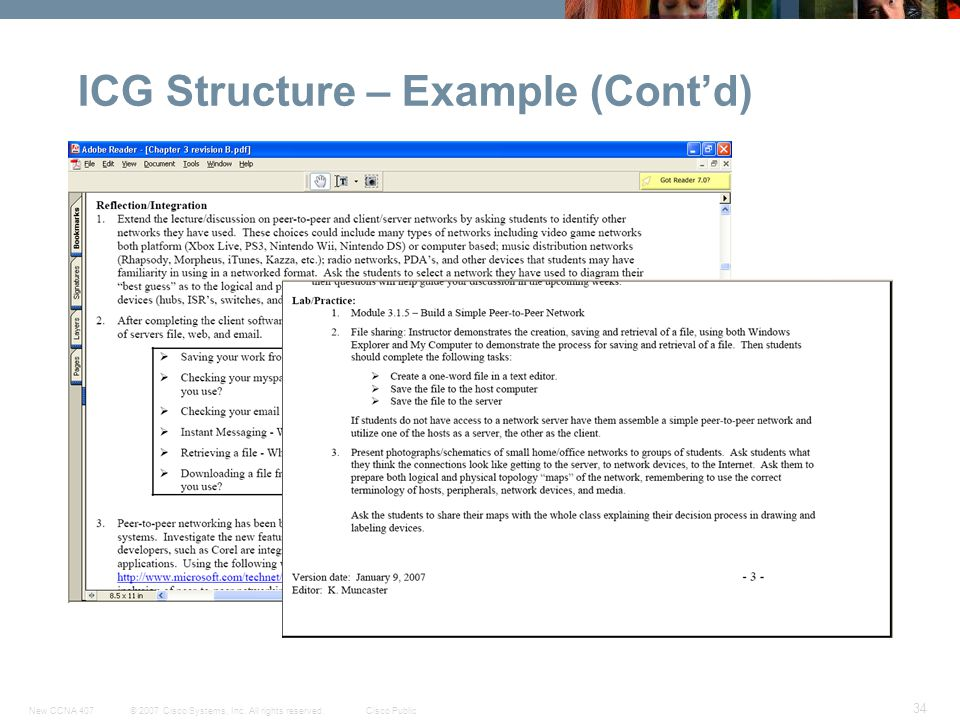 ICG Structure – Example (Cont'd)