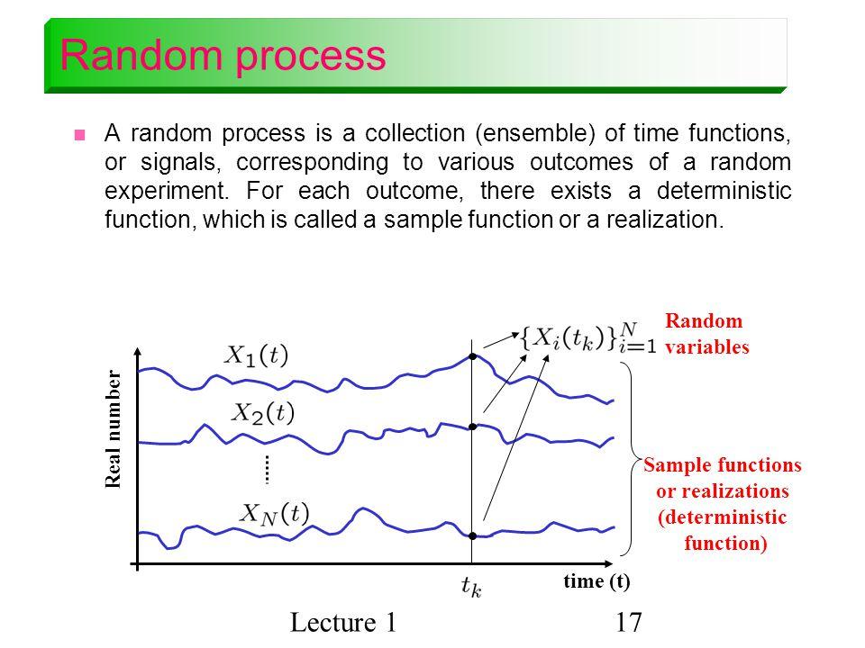Random process Lecture 1
