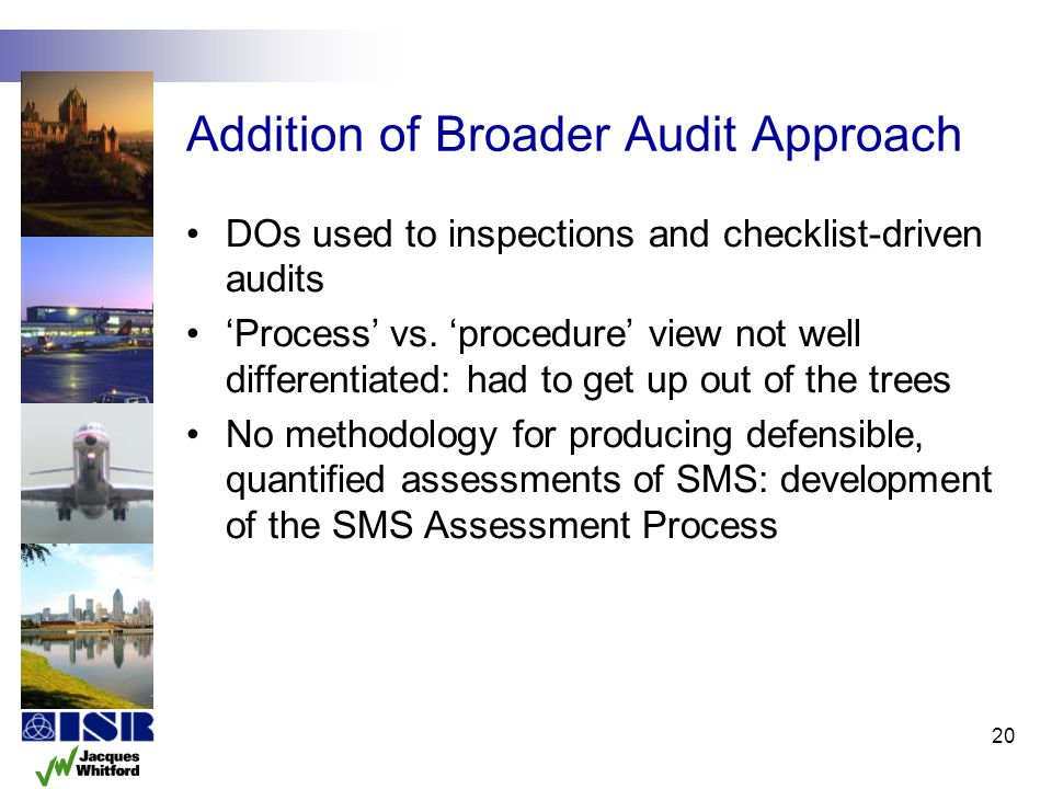 Addition of Broader Audit Approach