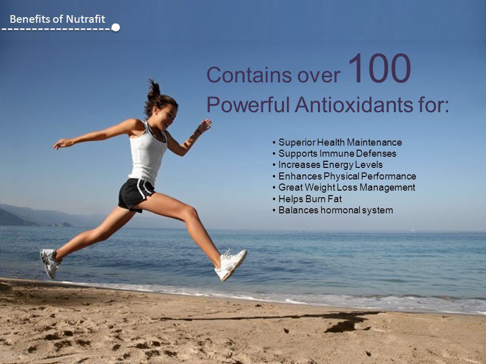 Powerful Antioxidants for: